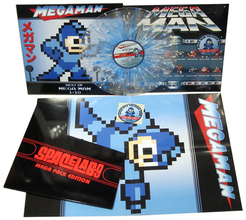 SOLD OUT Mega Man: Best of Mega Man 1-10 LP [MEGA PACK EDITION]