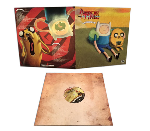 SOLD OUT Adventure Time Presents: The Music of Ooo LP [Lady Rainicorn Variant - SPACELAB9 Exclusive]