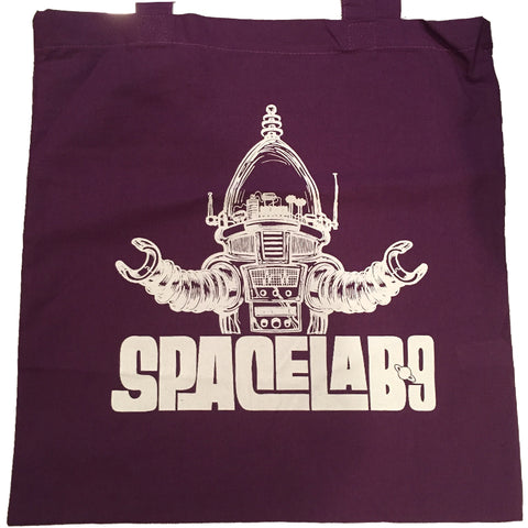 SPACELAB9 A-GO-GO RECORD TOTE BAG