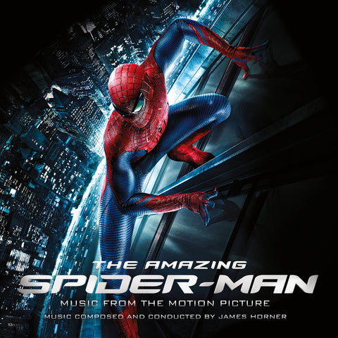 SOLD OUT The Amazing Spiderman: Music from the Motion Picture DOUBLE LP [Red / Blue Vinyl Variant]
