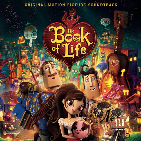 Book of Life: Original Motion Picture Soundtrack LP [Blue, Red or Purple Vinyl] SALE!