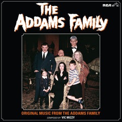 SOLD OUT Addams Family: [Fester's Light Bulb GITD Vinyl Variant] Original Music From The Addams Family LP