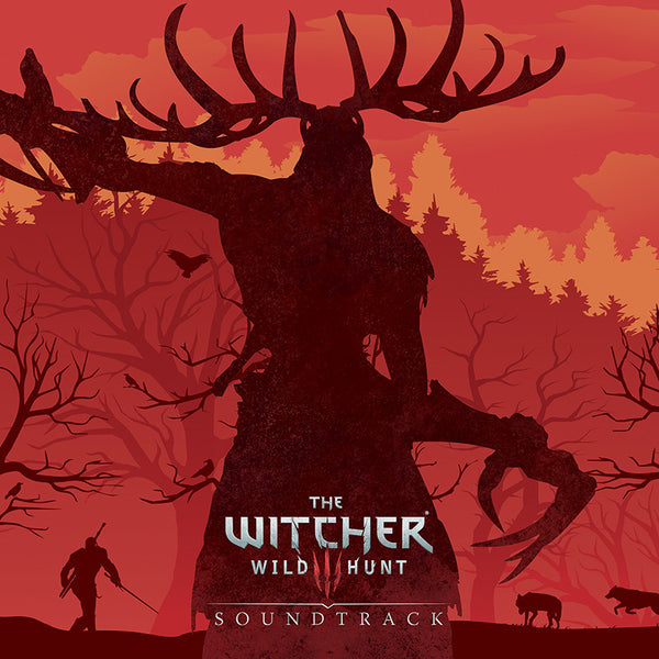 SOLD OUT The Witcher 3: Original Game Soundtrack *Complete Edition* Four LP Set [Splatter Vinyl Variant]
