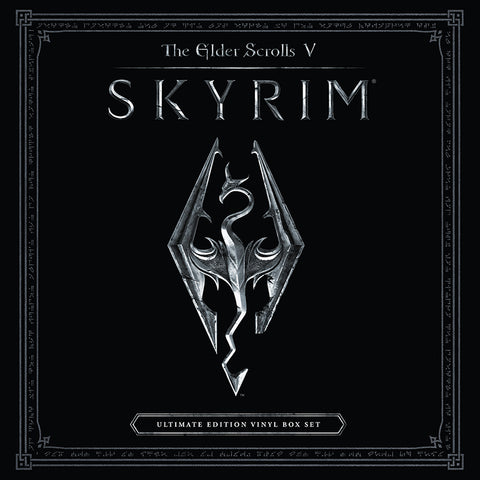 "SOLD OUT The Elder Scrolls V: Skyrim 10th Anniversary Edition 4 LP Box Set [SPACELAB9 NYCC ""Sweet Roll"" Variant]"