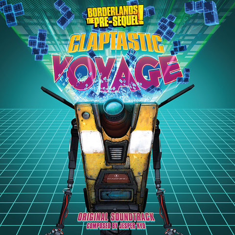 ** Borderlands The Pre-Sequel: Claptastic Voyage LP [*Claptrap's Consciousness* Variant - SPACELAB9 Exclusive]