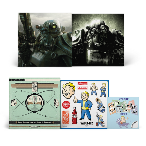 * US & ROW * Fallout 3: 10th Anniversary Ultimate Vinyl Edition 4LP Box Set [SPACELAB9 Exclusive Variants]