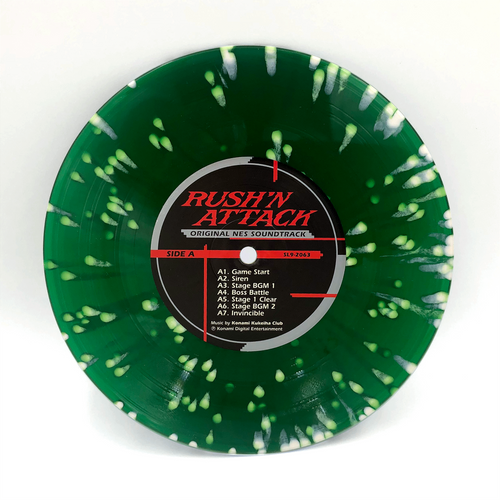 "** PRE-SALE **  RUSH N' ATTACK: Original NES Soundtrack 7"" [SL9 Exclusive Vinyl Variants]"