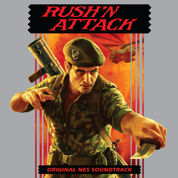** PRE-SALE **  RUSH N' ATTACK: Original NES Soundtrack 7