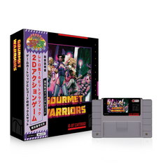 "* Gourmet Warriors: SNES Cartridge and 7"" Box Set [SPACELAB9.COM Exclusive]"