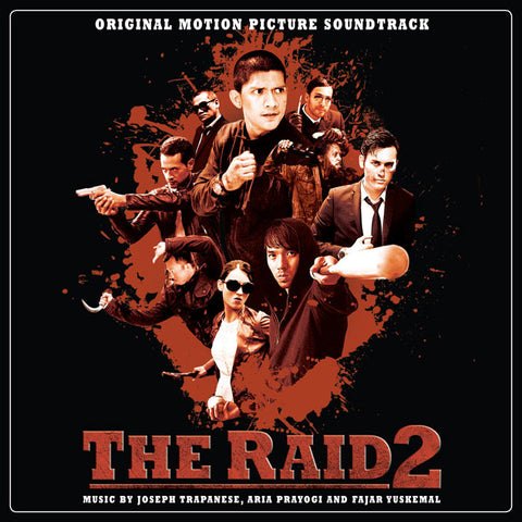 "The Raid 2: Original Score 180g Double LP [""Crimson Rain"" Vinyl Variant]"