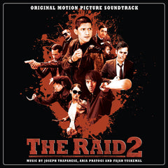 "SOLD OUT The Raid 2: Original Score 180g Double LP [""Crimson Rain"" Vinyl Variant]"