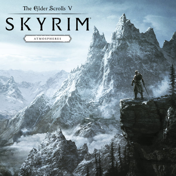 "SOLD OUT The Elder Scrolls V: Skyrim ""Atmospheres"" LP [""Ice & Snow"" NYCC Exclusive Variant]"