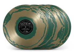 "* The Elder Scrolls V: Skyrim ""Ultimate Vinyl Edition"" 4 LP Box Set [SPACELAB9.com Exclusive ""Circlet"" Variants]"