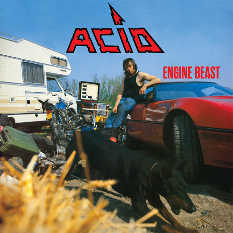 ACID: Engine Beast LP [Wax Maniax Exclusive Vinyl Variant]