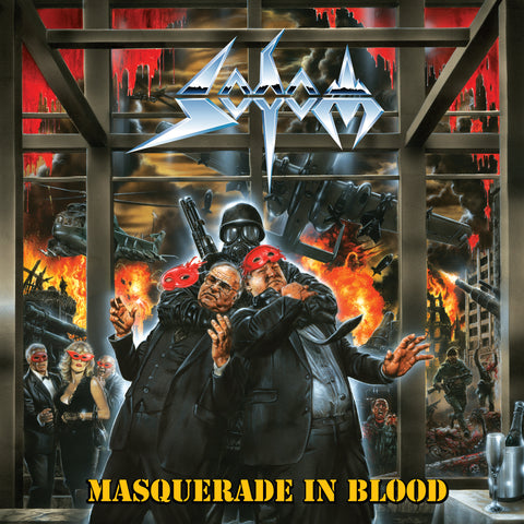 SODOM: Masquerade in Blood LP [Wax Maniax Exclusive Vinyl Variant]