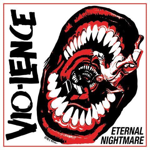 VIO-LENCE: Eternal Nightmare (Hand-Screened Jacket Edition) Double LP [Colored Vinyl Exclusive]