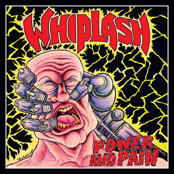 WHIPLASH: Power & Pain LP [Purple Vinyl Variant] *Waxmaniax.com Exclusive*