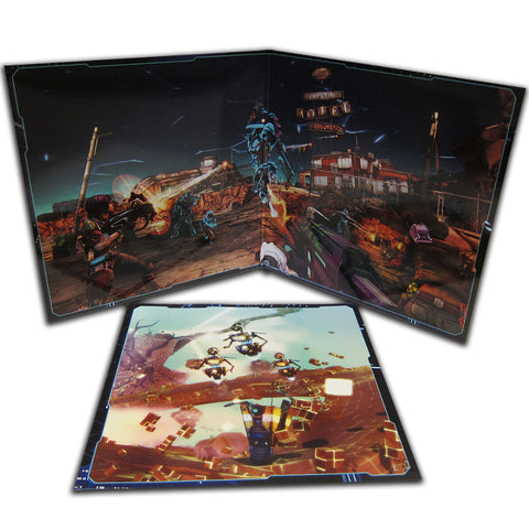 "SOLD OUT Borderlands The Pre-Sequel: Claptastic Voyage LP [""Claptrap's Consciousness"" Variant]"