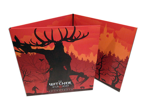 The Witcher 3: Original Game Soundtrack *Complete Edition* Four LP Set [Clear Vinyl Variant]