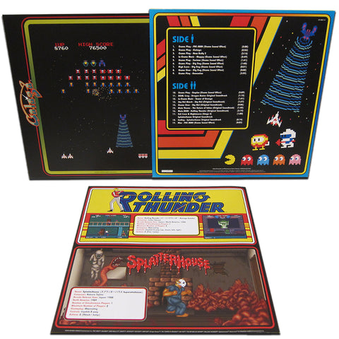 SOLD OUT Namco Museum: Arcade Greatest Hits LP [*Splatterhouse* Variant - NYCC Exclusive]