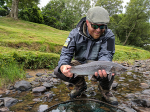 Fish Scotland with the SmithFly in the Summer of 2018