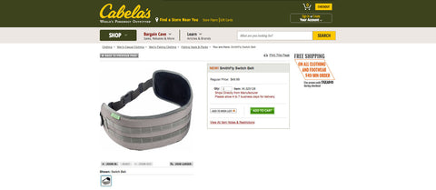 Getting called up to the Big leagues, SmithFly now available on Cabelas.com