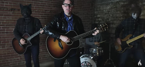SmithFly HQ basement plays staring role in a new music video by JT Woodruff of Hawthorne Heights