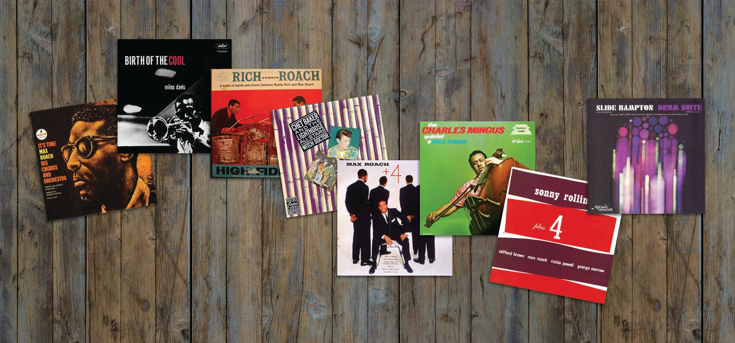Essential Vinyl - Max Roach Collection