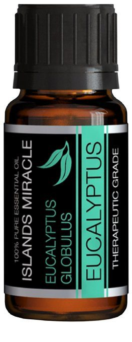Eucalyptus Essential Oil 100% Pure Therapeutic Grade - 10ml