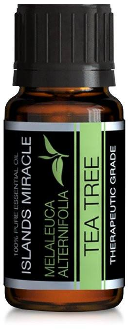Tea Tree (Melaleuca) Essential Oil 100% Pure Therapeutic Grade - 10ml