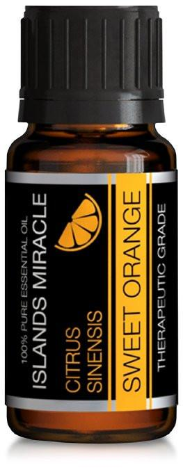 Orange Essential Oil 100% Pure Therapeutic Grade - 10ml