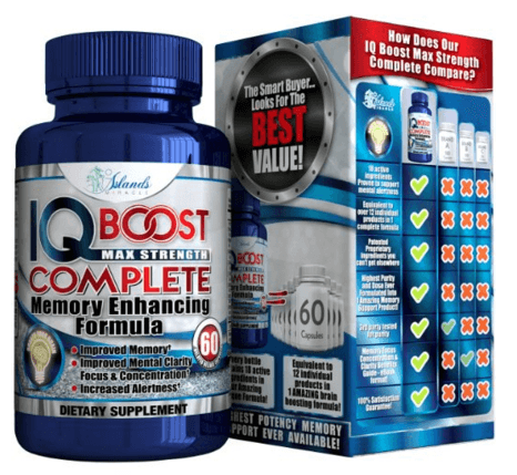 IQ Booster - Brain Boost Memory Support