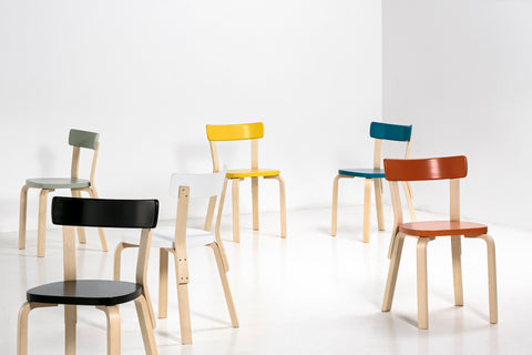 death in 1976 the company has also sold design objects by other Finnish  designers  such as Juha Leivisk  and Eero Aarnio  as well as Vitra furniture. Artek   Austere