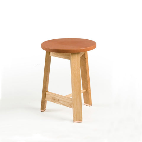 441A Stool-Leather