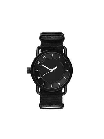 Black Nylon Nato Wristband