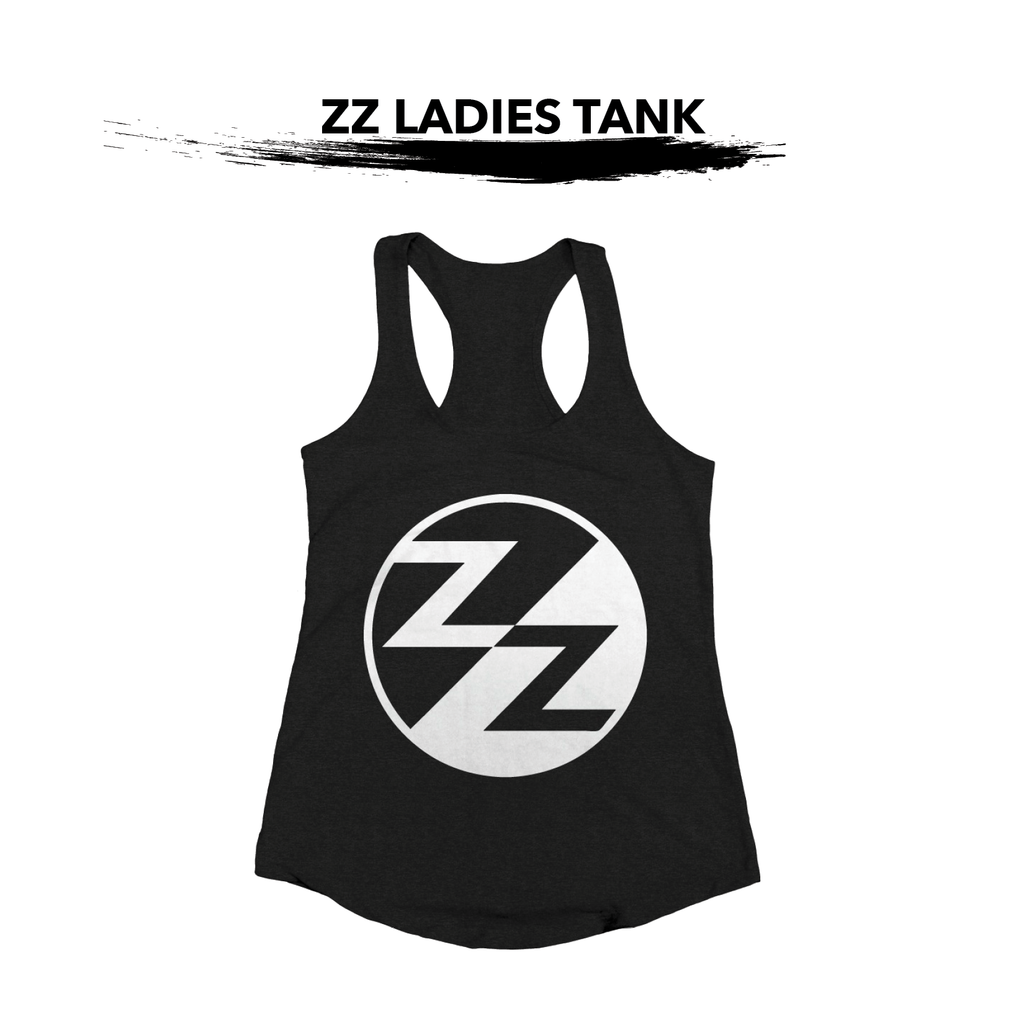 Black ZZ Ladies Tank
