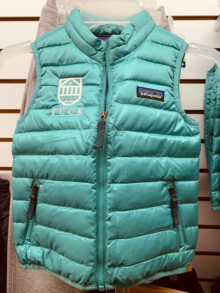 Patagonia Tiny Tuckie Baby Down Vest w/ Tuck Shield embroidery