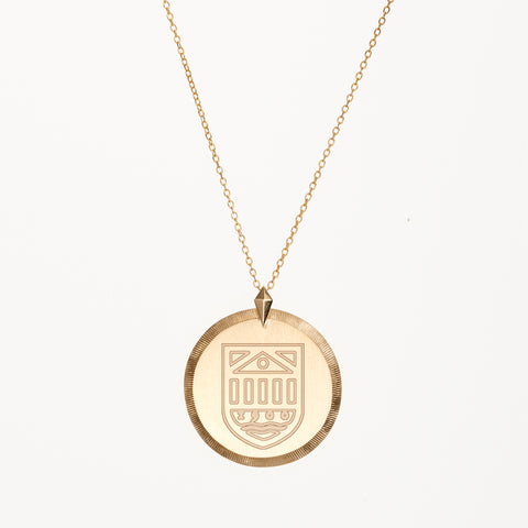 Kyle Cavan Tuck Shield Necklace (Small)