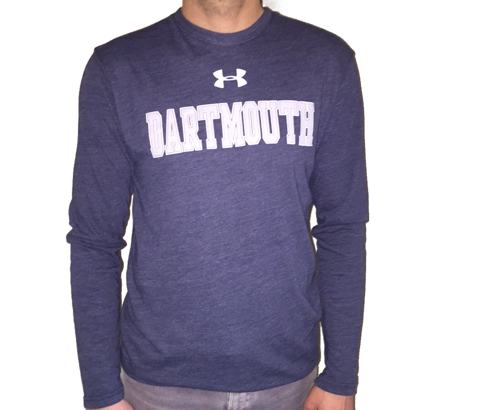 Under Armour L/S Triblend Tee Dartmouth