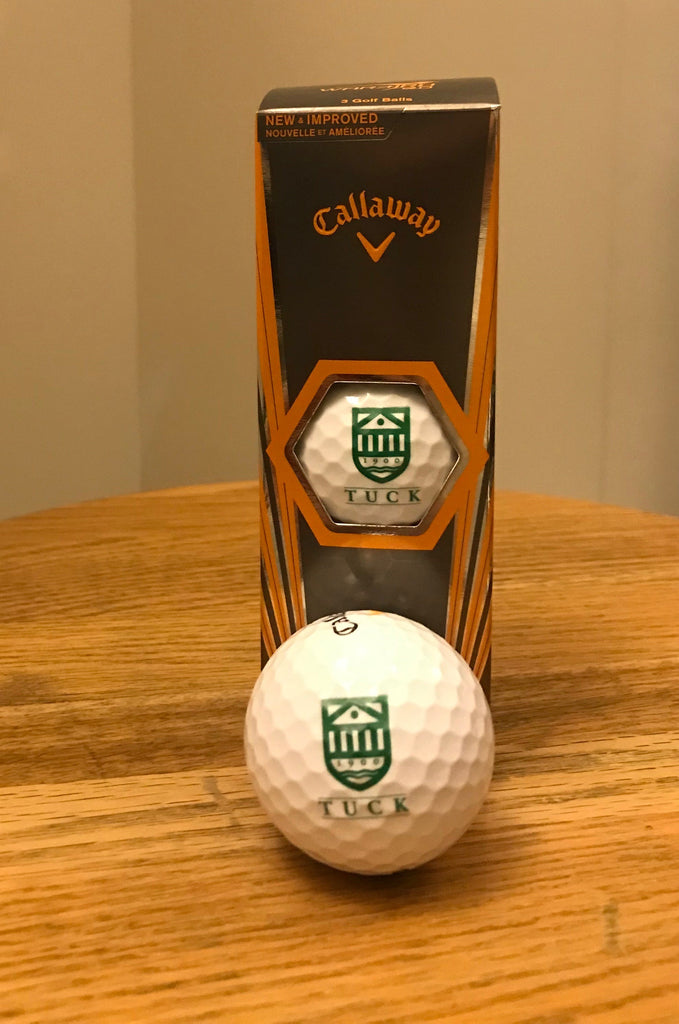 Tuck Callaway Golf Ball 3 Pack