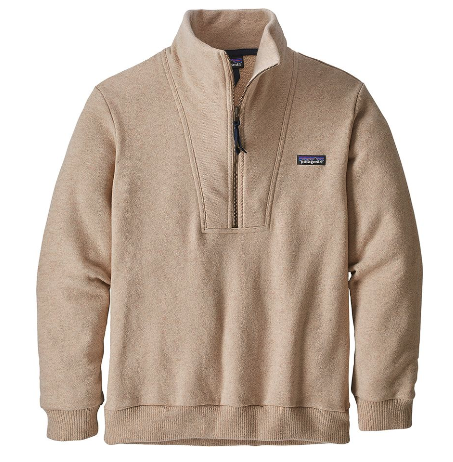 Patagonia Men's Woolie Fleece Pullover Cowl Neck