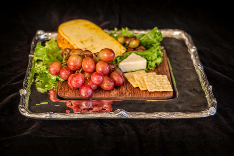 Cheese Tray w/wood Forest