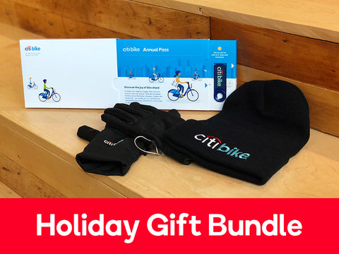 Annual Membership + Citi Bike Hat + Touch Screen Gloves Gift Package