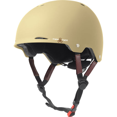Women's Bike Month Triple Eight Gotham Cream Matte Helmet