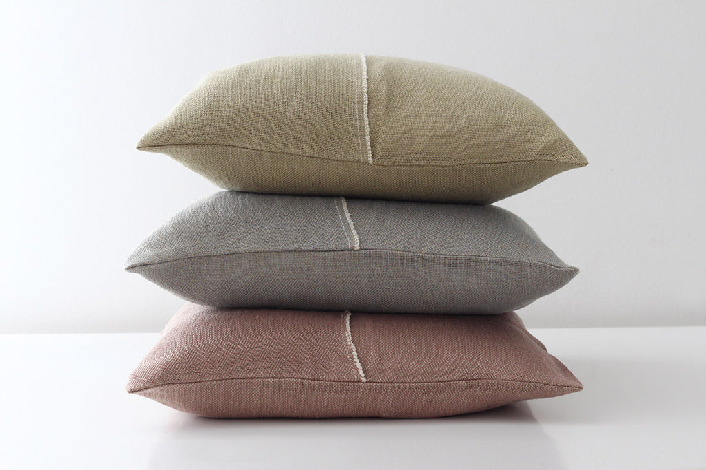 <b>RETICULUM</b><br>Linen Cushion Cover - Teixidors