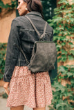 Bridget Backpack in Charcoal