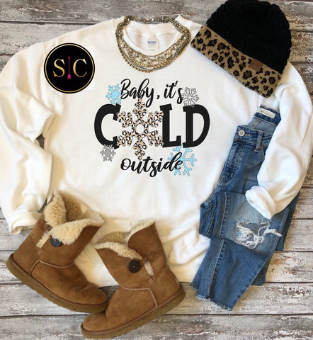 Baby It's Cold Outside Tee/Sweatshirt {Pre-Order}