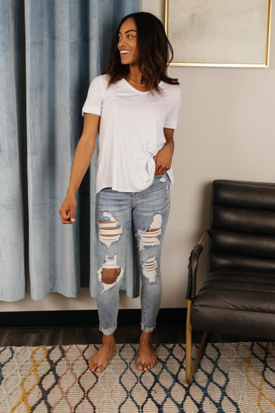 Old Is New Distressed Jeans