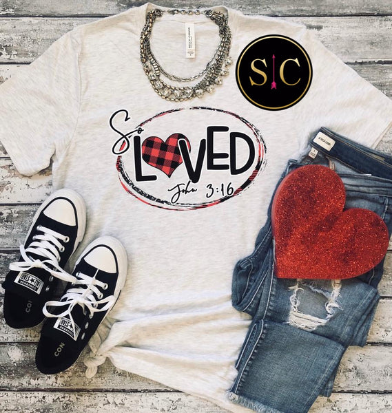 So Loved John 3:16 Tee {Pre-order}