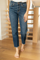 Plain And Perfect Medium Wash Jeans